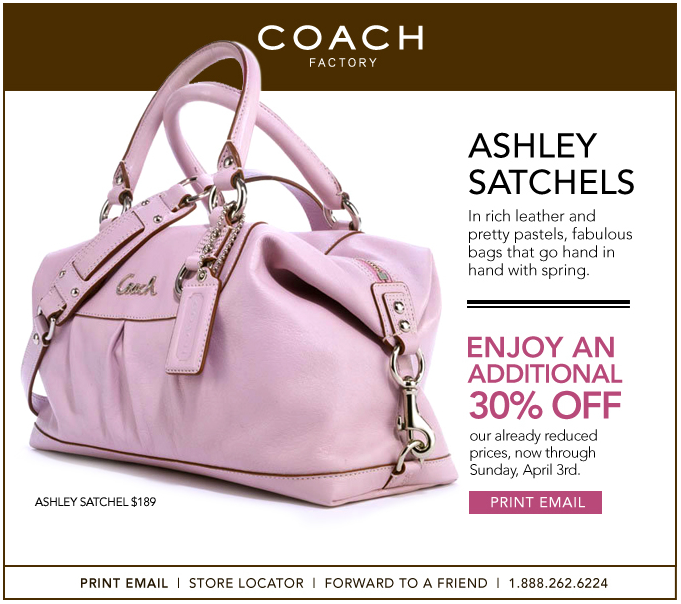 96696f6362 Additional 30% off at Coach Factory Outlet - Frugal Stepmom  Frugal ...