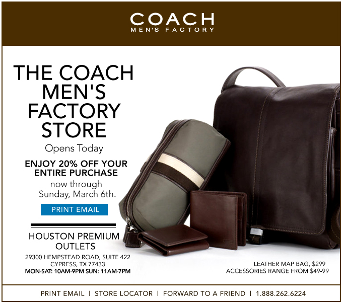 coach outlet stores locations 1hks  coach for men outlet