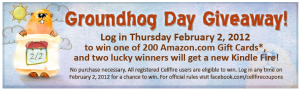 Cellfire Groundhog Day Promotion