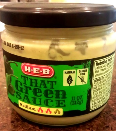 That Green Sauce - HEB